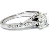 1/10 ct Oval Diamond Vintage Engagement Ring2