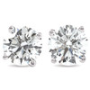 1.50Ct Round Brilliant Cut Natural Diamond Stud Earrings in 14K Gold Basket Setting (G/H, I2-I3)