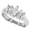 1 1/2ct Marquise Diamond Wedding Anniversary 14K (G/H, I1)