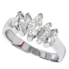 1 1/2ct Marquise Diamond Wedding Anniversary 14K (G/H, I1)