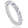 1 5/8ct Diamond Half Eternity Ring 14K White Gold (G/H, I1)
