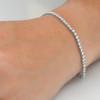 5ct Diamond Tennis Bracelet 14K White Gold (G, I1-I2)