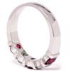 1/2ct Ruby & Diamond Wedding Anniversary 14K Ring (G/H, I1)