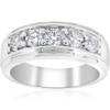 1 ct Mens Diamond Five Stone Wedding Ring 14k White, Yellow, Rose Gold (G/H, SI(1)-SI(2))