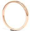 1/30ct Promise Diamond Solitaire Bezel Ring 14K Rose Gold (G/H, SI2-I1)