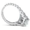 2 1/2ct Cushion Diamond Halo Engagement Ring 14k White Gold ((G-H), VS)