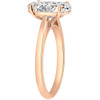 2ct Oval Cut Diamond Solitaire Engagement Ring 14k Rose Gold (I/J, SI2-I1)