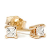 1/4ct Diamond Studs 14K Yellow Gold (G/H, SI2-SI3)