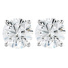1 1/2CT Diamond Screw Back Studs Platinum ((G-H), SI(1)-SI(2))