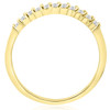 1/4ct 14K Gold Diamond Wedding Anniversary Ring Band (H, I2)