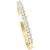 1/2ct Round Diamond Prong Wedding Ring 14k Yellow Gold (I/J, I2-I3)