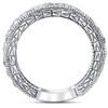 1 3/8ct Antique Real Diamond Wedding Anniversary Ring (H/I, I2-I3)