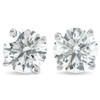 1 1/2 cttw Diamond Studs 14K White Gold IGI Certified Earrings (I-J, I2-I3)