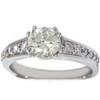 1 1/3ct Diamond Ring 14K White Gold (G/H, I1)