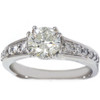 1 1/3ct Diamond Ring 14K White Gold (G/H, I1)