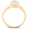 1 3/4 Ct TDW Solitaire Diamond Engagement Ring 14k Yellow Gold Enhanced (H/I, SI1-SI2)