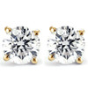 1/4 Ct TDW Genuine Diamond Studs Available in 14k White or Yellow Gold (IJ, I2-I3)