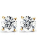1/3 Ct TDW Diamond Studs Available in 14k White or Yellow Gold (I/J, I2-I3)