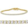 "5ct Diamond Tennis Bracelet 18K Yellow Gold 7"" (G, I2-I3)"