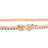 "4ct Diamond Tennis Bracelet 14K Rose Gold 7"" (G/H, I2)"