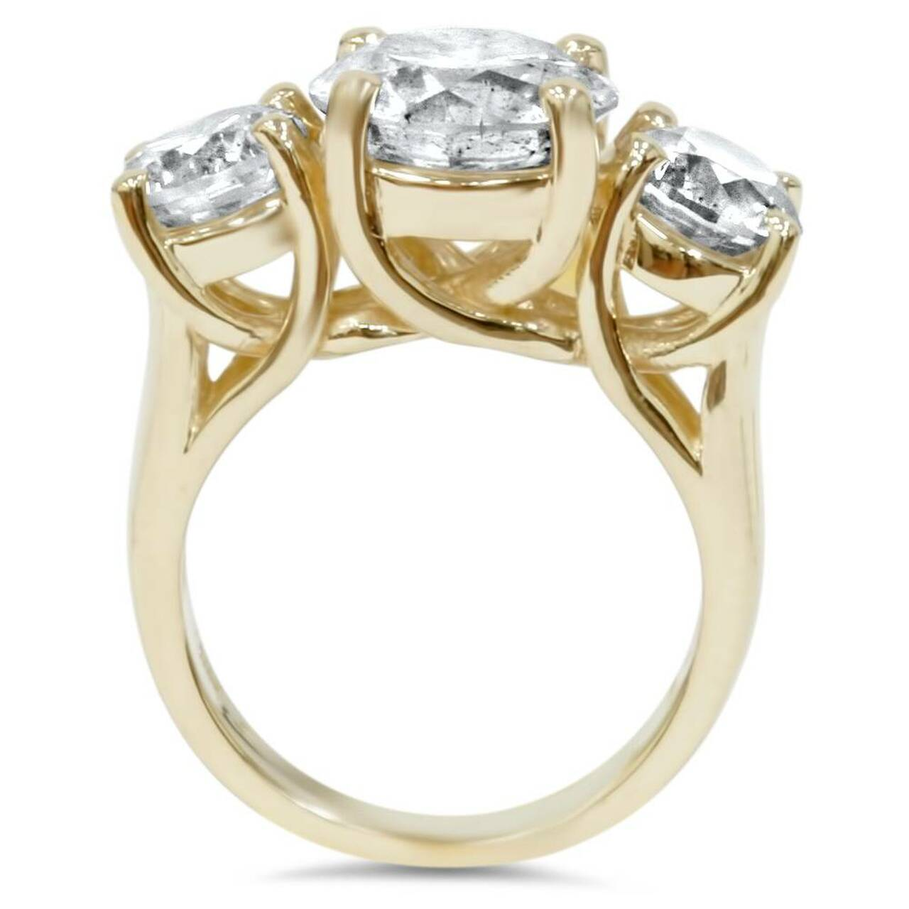 0609407860 ... 3 Stone Round Solitaire Engagement Ring 14K Yellow Gold (H-I, I1-I2).  ENG1913Y.  https://d3d71ba2asa5oz.cloudfront.net/53000589/images/eng1913ylarge1.