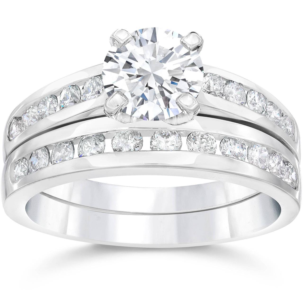 2 solitaire diamond ring