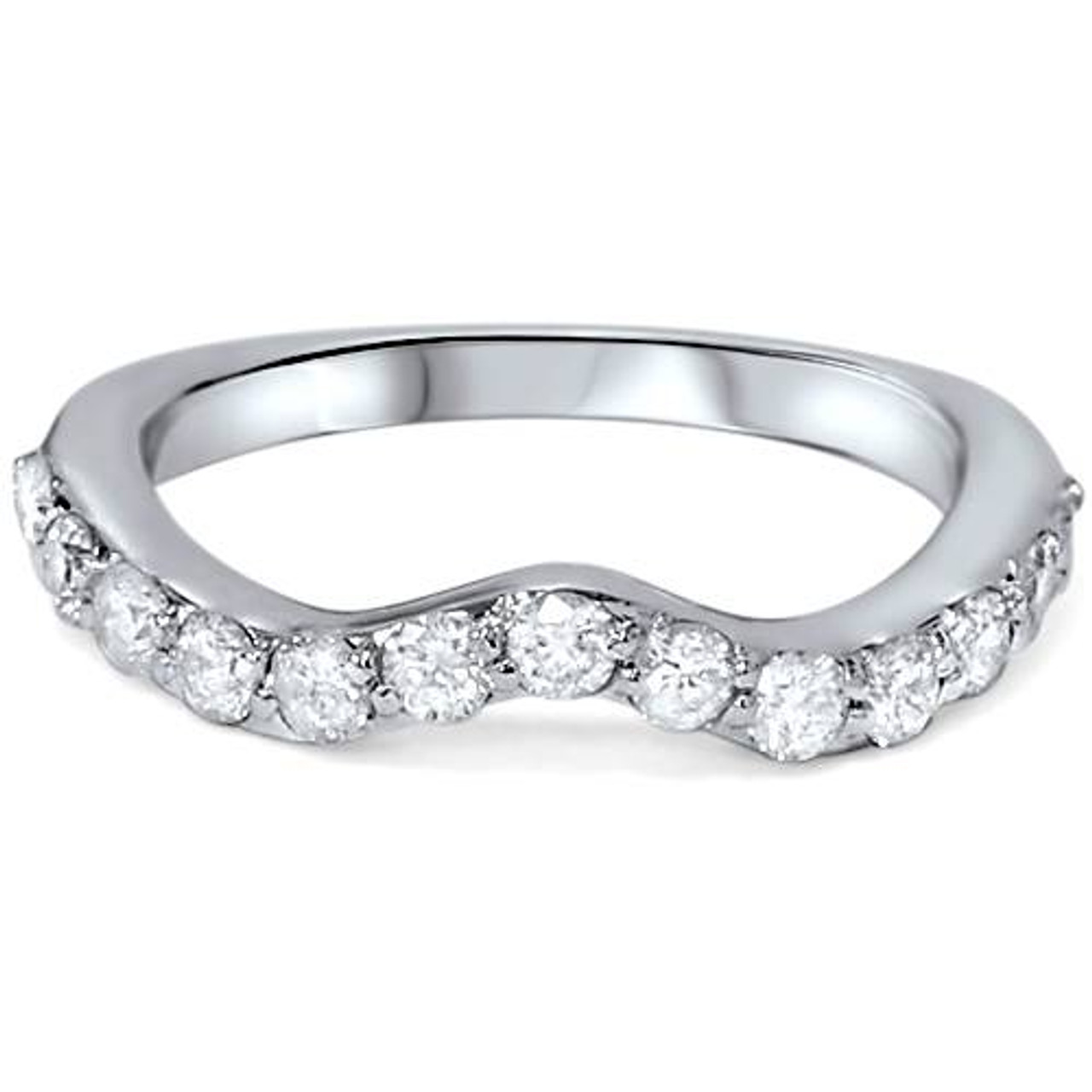 Sd3d71ba2asa5ozcloudfront53000589imagescurved: Curved Wedding Band 0 5ct Diamonds At Reisefeber.org