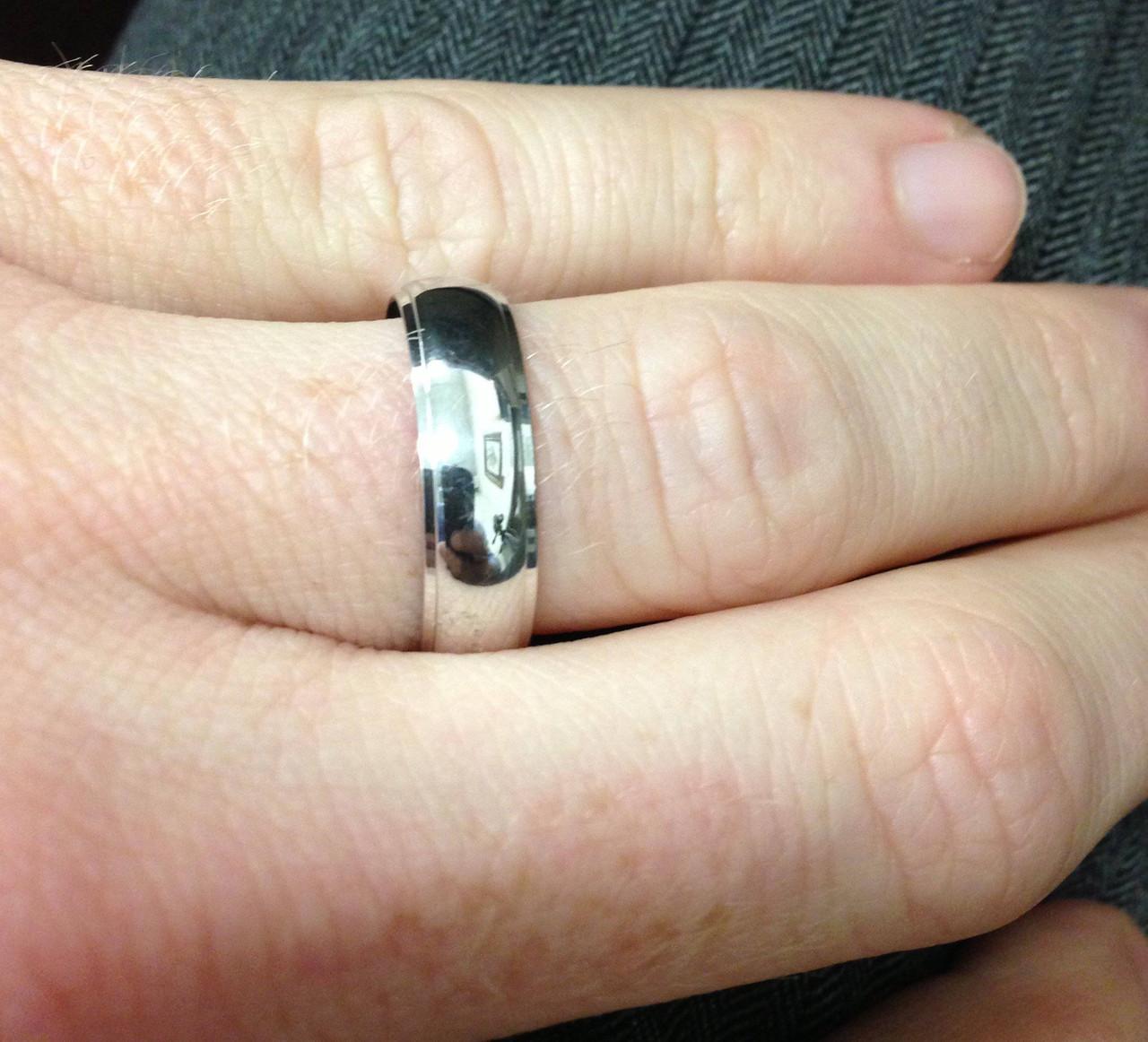 Mens Argentium Silver Comfort Fit Wedding Band. WB9993.  https   d3d71ba2asa5oz.cloudfront.net 53000589 images 1409large11. 3de1b96fb2