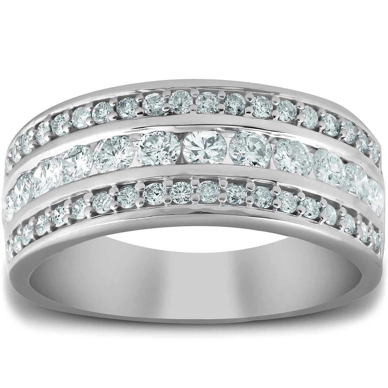 1//4 Carat Channel Set Diamond Ladies Anniversary Wedding Band in 10K Gold