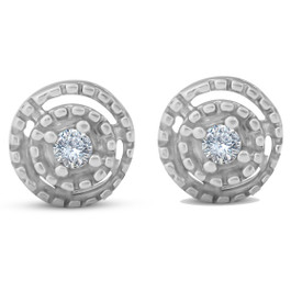 Diamond Studs 10K White Gold (G/H, I2-I3)