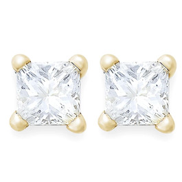 1/5ct Diamond Studs 14K Yellow Gold (G/H, SI)