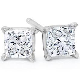 .65CT Princess Cut Diamonds 14K (I2-I3)