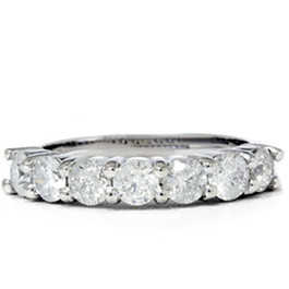 2 1/10ct HUGE Real Diamond Wedding Anniversary 14K Ring (G/H, I1)
