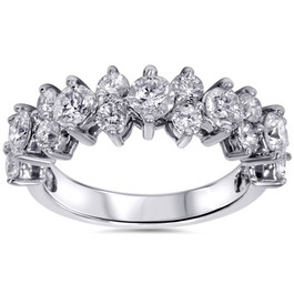 2ct Diamond Ring 14K White Gold (H/I, I1-I2)