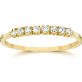 Diamond Ring 10K Yellow Gold (H/I, I2-I3)