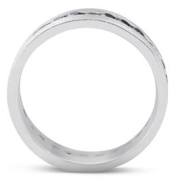 Black Diamond 8mm Mens Eternity Ring