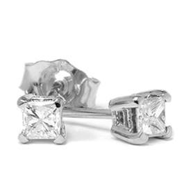 1/3ct Diamond Studs 14K White Gold (G/H, SI2-SI3)