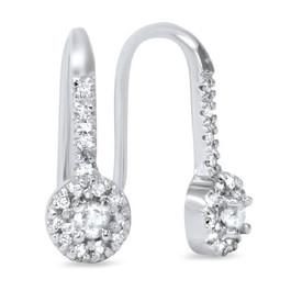 5/8ct Diamond Earrings White Gold (H, I2-I3)