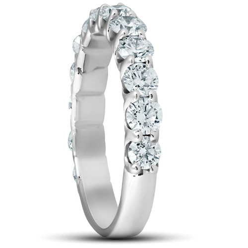 3 Ct Diamond Engagement Wedding Ring Set 14k White Gold (G/H, SI1-SI2)