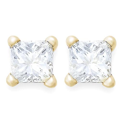 1/5ct Diamond Studs 14K Yellow Gold (G/H, SI)