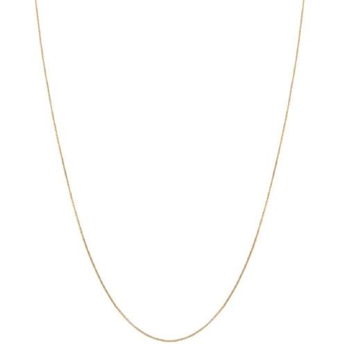 10k Yellow Gold Box Chain (18-inch)