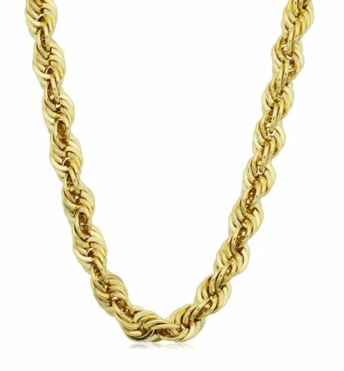Men's 14k Yellow Gold Filled 6-mm Rope Chain Necklace