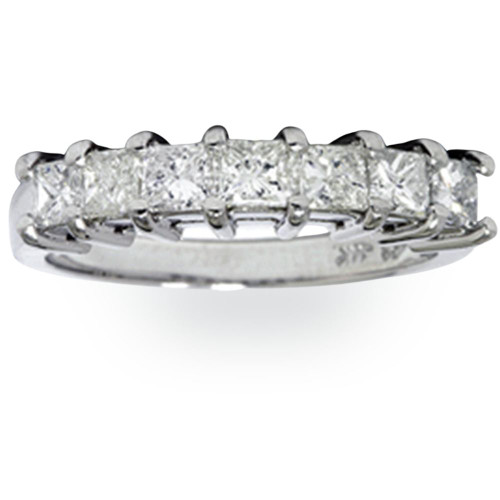 1ct Princess Cut Diamond Wedding Anniversary Ring (G/H, I1)