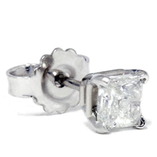 1/3ct Diamond Stud 14K White Gold (G, SI)