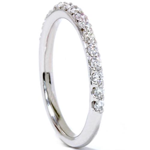 1/3ct Prong Diamond Ring 14K White Gold (G/H, I1)