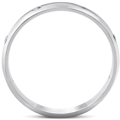 White Gold Diamond Wedding Eternity Anniversary Ring (G/H, SI)