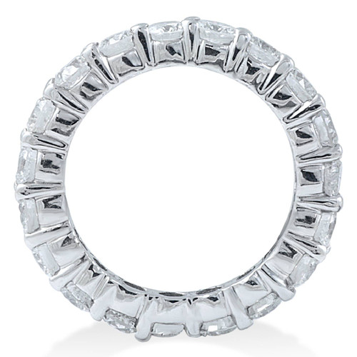 2ct Diamond Eternity Wedding Ring 14K White Gold (G/H, SI1-SI2)