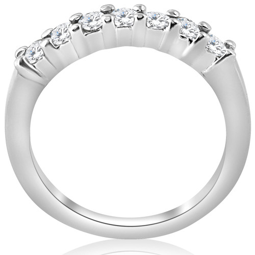 1/2ct Diamond Wedding Ring 14K White Gold (H/I, I1)