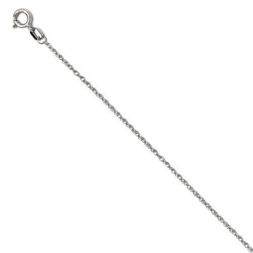 1/2ct Diamond 14K White Gold Cross Pendant Necklace (G/H, I1)