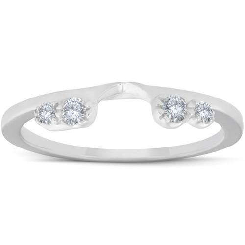 1/5ct Diamond Enhancer Ring 14K White Gold (G/H, I1)